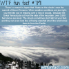 sea of clouds wtf fun fact