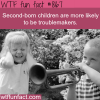second born children wtf fun fact