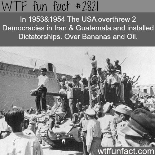 Secret CIA wars - WTF fun facts