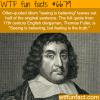 seeing is believing wtf fun fact