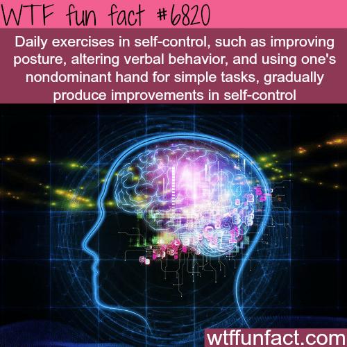 self-control - WTF fun fact