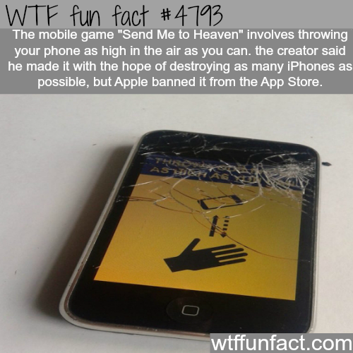 Send Me to Heaven iPhone game - WTF fun facts