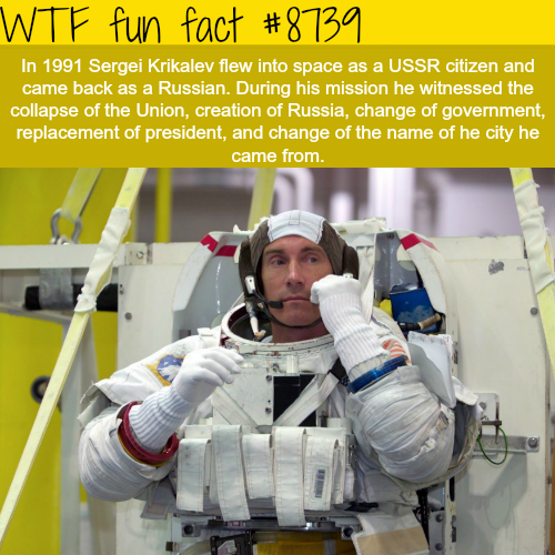 Sergei Kirkalev - WTF fun facts