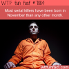 serial killers wtf fun facts