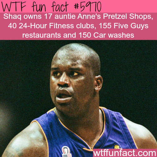 Shaq O'Neal net worth - WTF fun facts