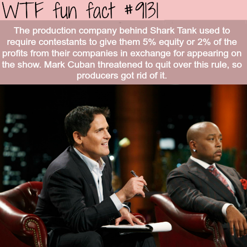 Shark Tank - WTF fun fact
