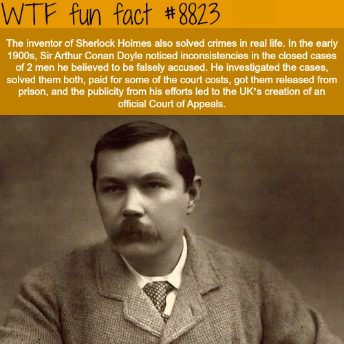 Sherlock Holmes - WTF fun facts