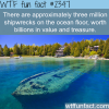 shipwrecks and treasures