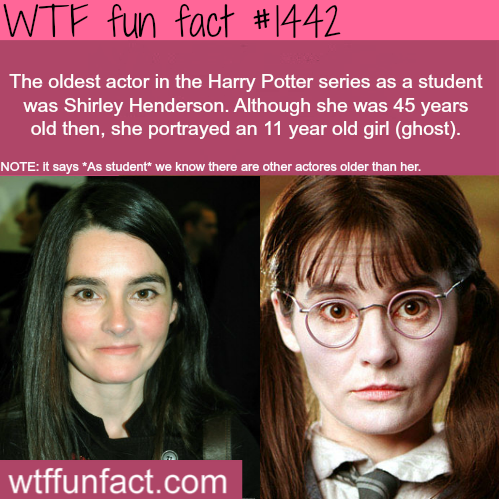 Shirley Henderson - Harry Potter