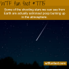 shooting stars wtf fun fact