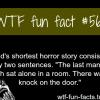 shortest horror story