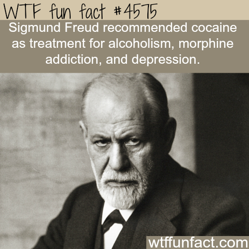 Sigmund Freud and cocaine -   WTF fun facts
