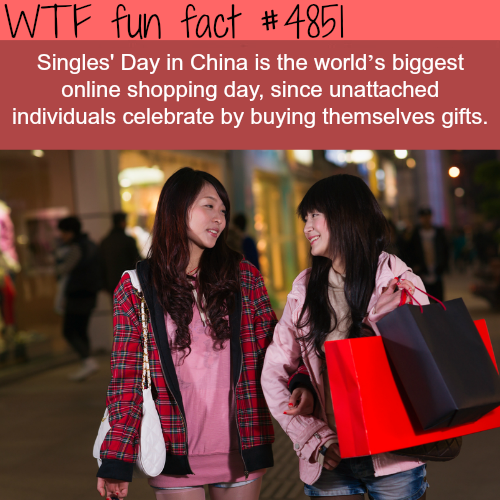 Singles' day in China - WTF fun facts
