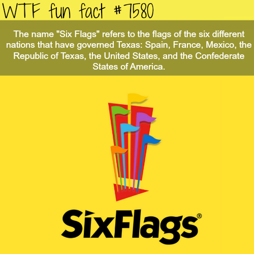 Six Flags - WTF fun facts