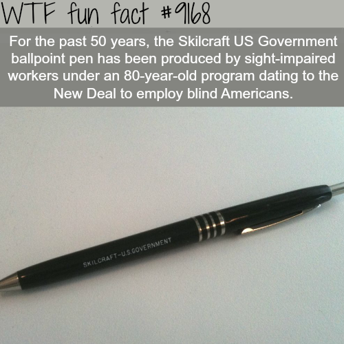Skilcraft US Government - WTF Fun Facts