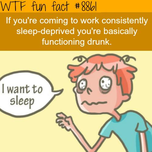 Sleep-deprivation - WTF fun facts