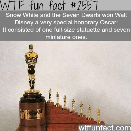 Snow White and the Seven Dwarfs Oscar - WTF fun facts