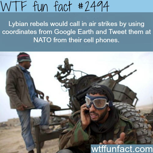 Social media and Arab spring -WTF funfacts
