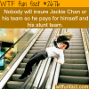 some facts about jackie chan wtf fun facts