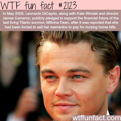 Some facts about Leonardo DiCaprio - WTF fun facts