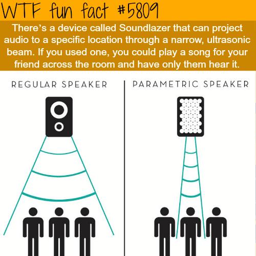 Soundlazer - WTF fun facts
