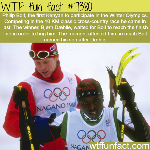 Sportsmanship - WTF fun facts