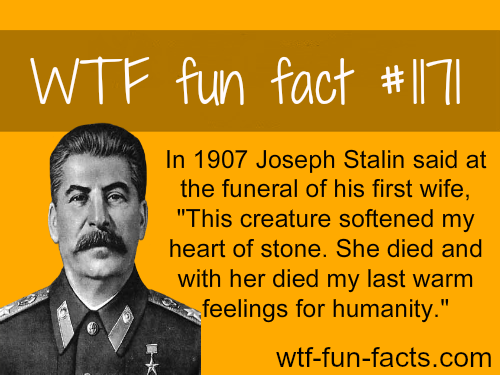 (SOURCE) - Joseph Stalin's wife