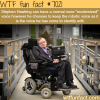 stephen hawking voice wtf fun facts