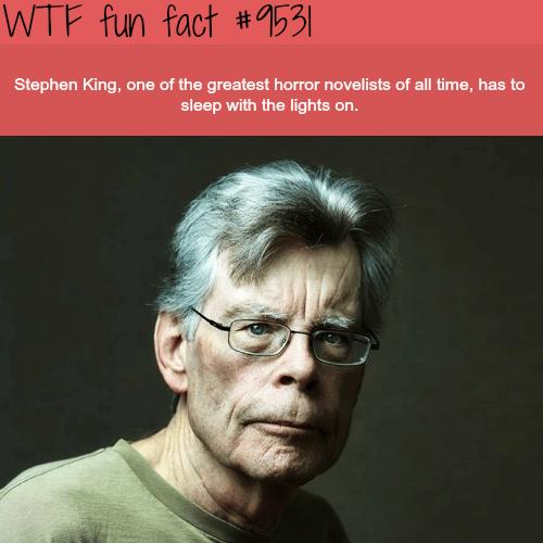 Stephen King - WTF fun fact