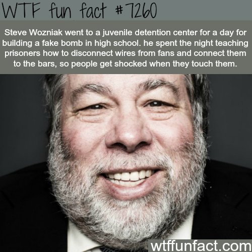 Steve Wozniak - WTF fun fact