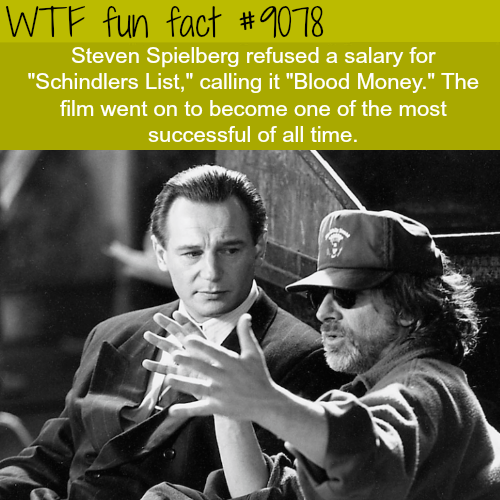 Steven Spielberg - WTF fun facts