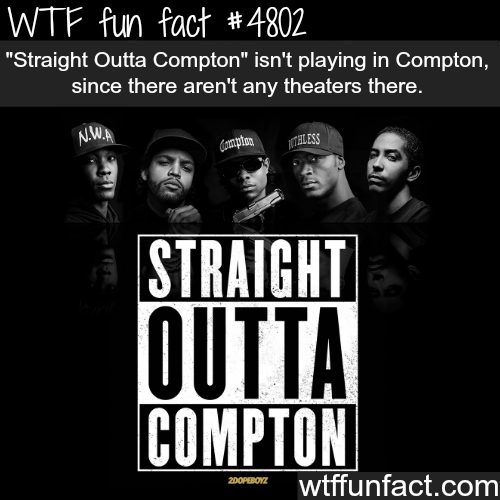Straight Outta Compton facts - WTF fun facts