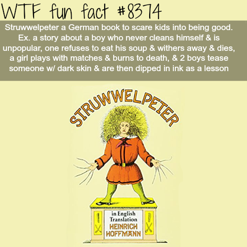 Struwwelpeter - WTF fun facts
