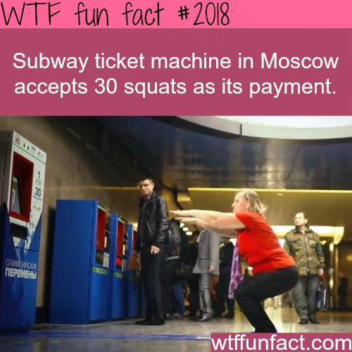 Subway ticket machine in Moscow