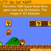 super mario bros game wtf fun fact