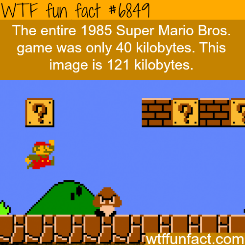 Super Mario Bros. game - WTF fun fact