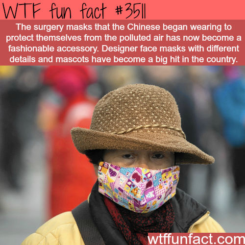 Surgery  Designer Masks -  WTF fun facts