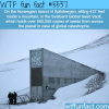 svalbard global seed vault wtf fun facts