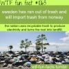 sweden trash energy