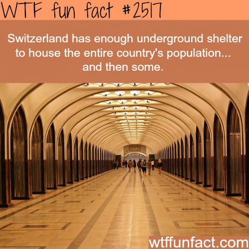 Switzerland underground city - WTF fun facts
