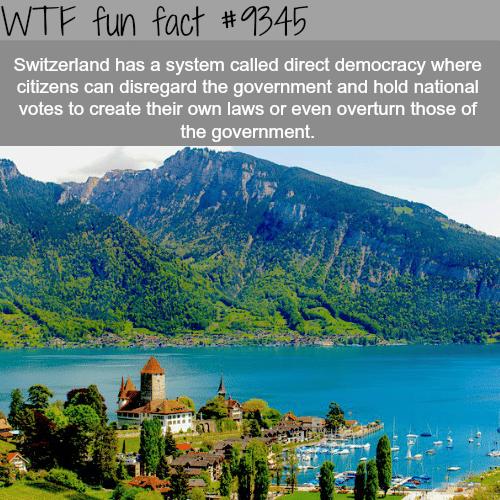 Switzerland - WTF fun facts