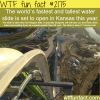 tallest and fastest water slide