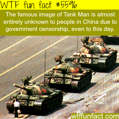Tank Man - WTF fun facts