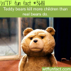 teddy bears kill more children than real bears