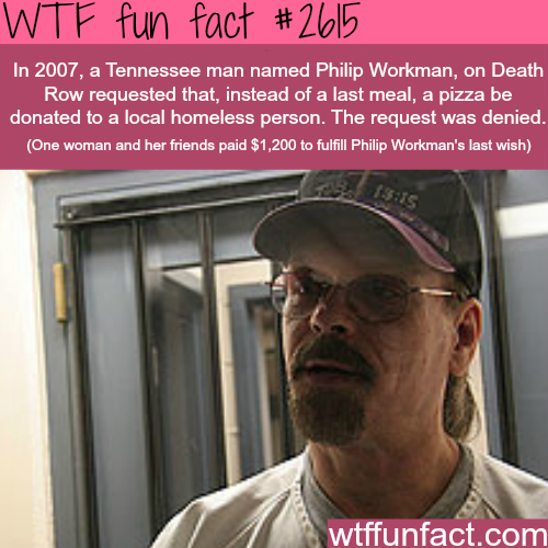 Tennessee man was denied his last wish - WTF fun facts