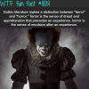 terror and horror wtf fun fact