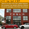 tesla wants to offer lifetime insurance with the