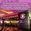 the 11th and current earl of sandwich founded a