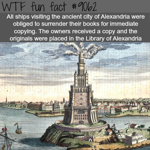 The ancient city of Alexandria - WTF fun facts
