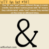 the and and meaning wtf fun facts